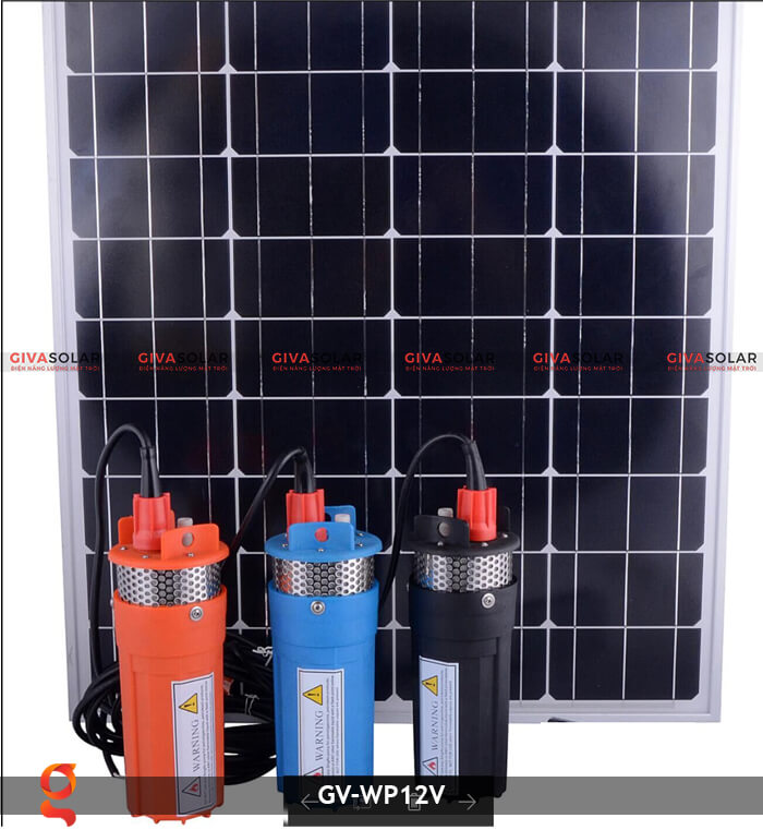 Máy bơm nước năng lượng mặt trời GV-WP12V 13