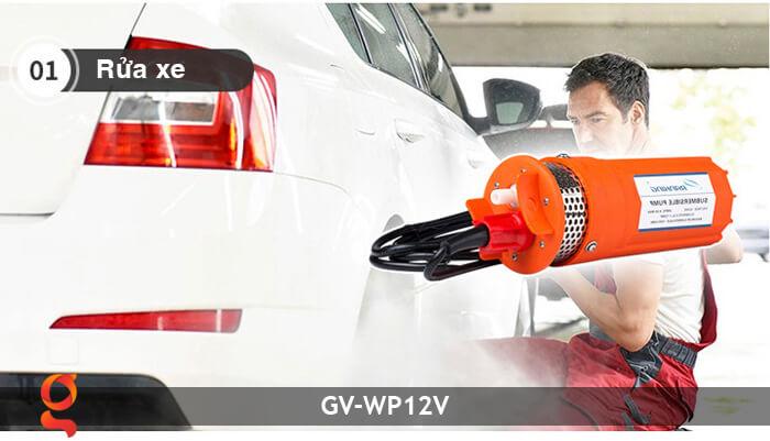 Máy bơm nước năng lượng mặt trời GV-WP12V 16