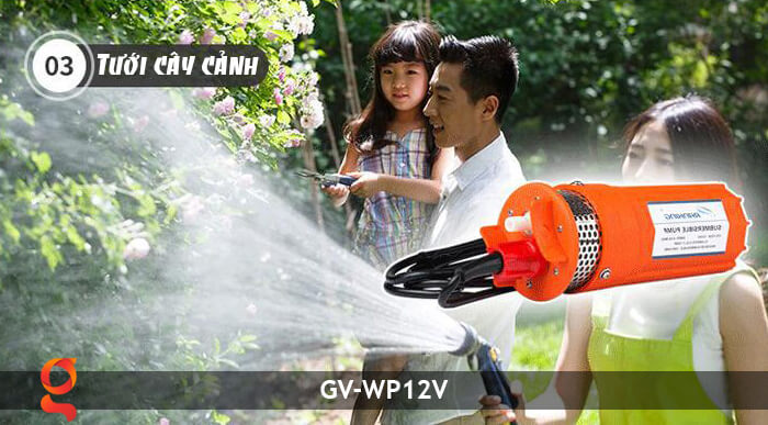 Máy bơm nước năng lượng mặt trời GV-WP12V 18