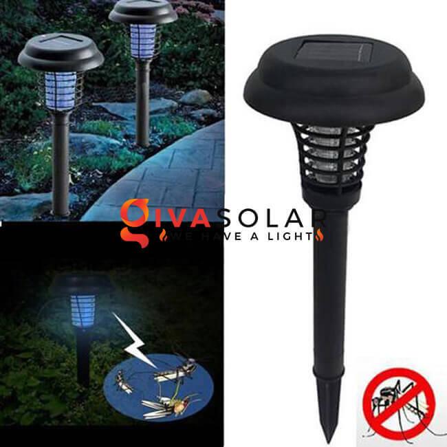 Tìm hiểu về đèn bắt côn trùng năng lượng mặt trời 1