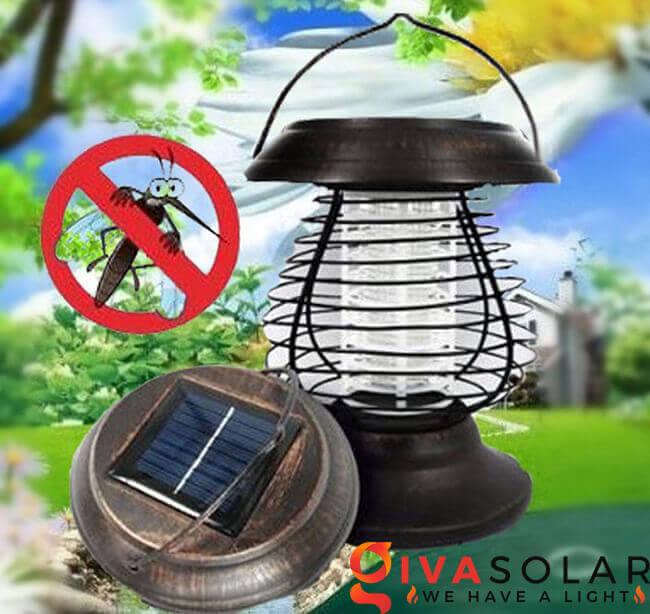 Tìm hiểu về đèn bắt côn trùng năng lượng mặt trời 2