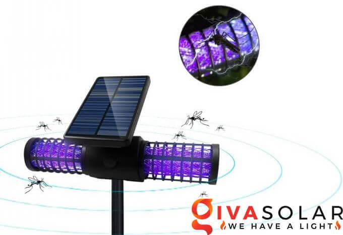 Tìm hiểu về đèn bắt côn trùng năng lượng mặt trời 5