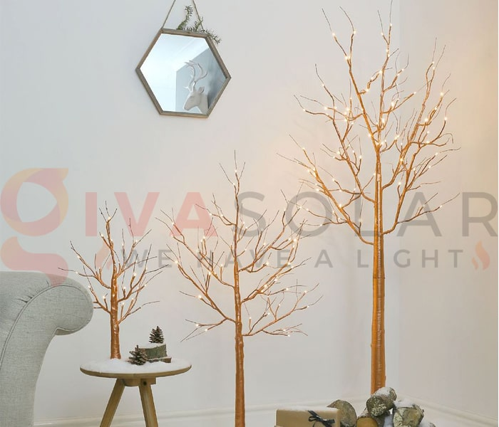Ý tưởng sử dụng dây đèn trang trí sáng tạo và đẹp mắt 12