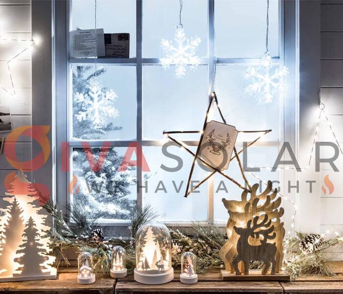 Ý tưởng sử dụng đèn trang trí cho mùa Giáng Sinh 1