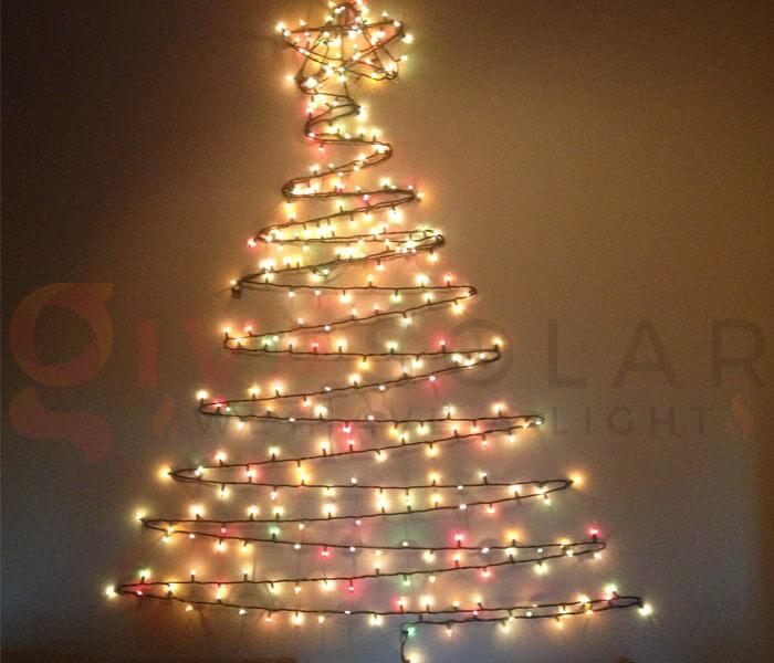 Ý tưởng sử dụng đèn trang trí cho mùa Giáng Sinh 11