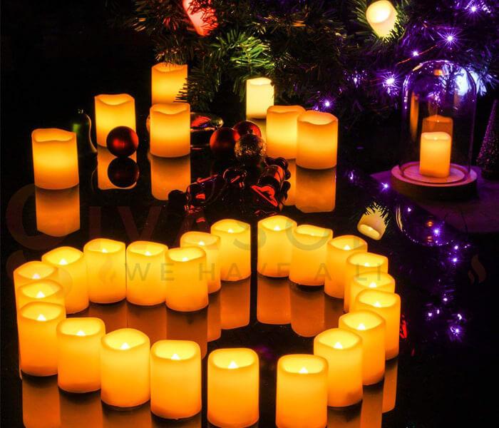 Ý tưởng sử dụng đèn trang trí cho mùa Giáng Sinh 13
