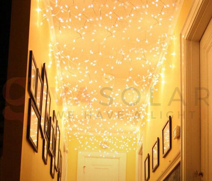 Ý tưởng sử dụng đèn trang trí cho mùa Giáng Sinh 8