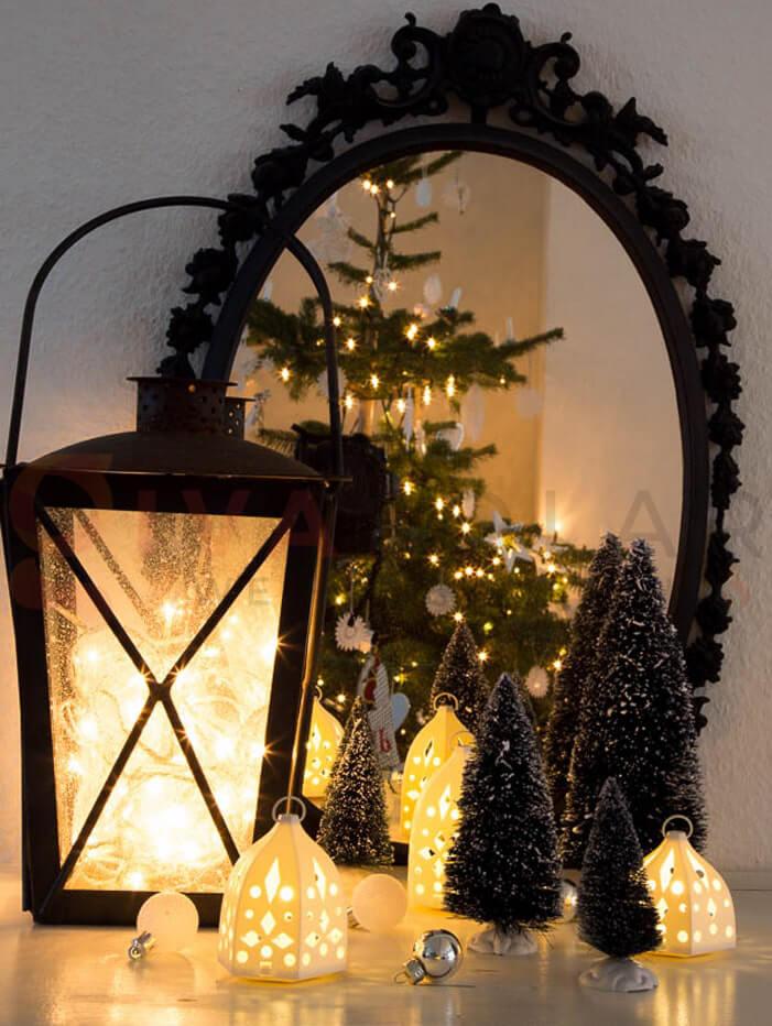 Ý tưởng sử dụng đèn trang trí cho mùa Giáng Sinh 9
