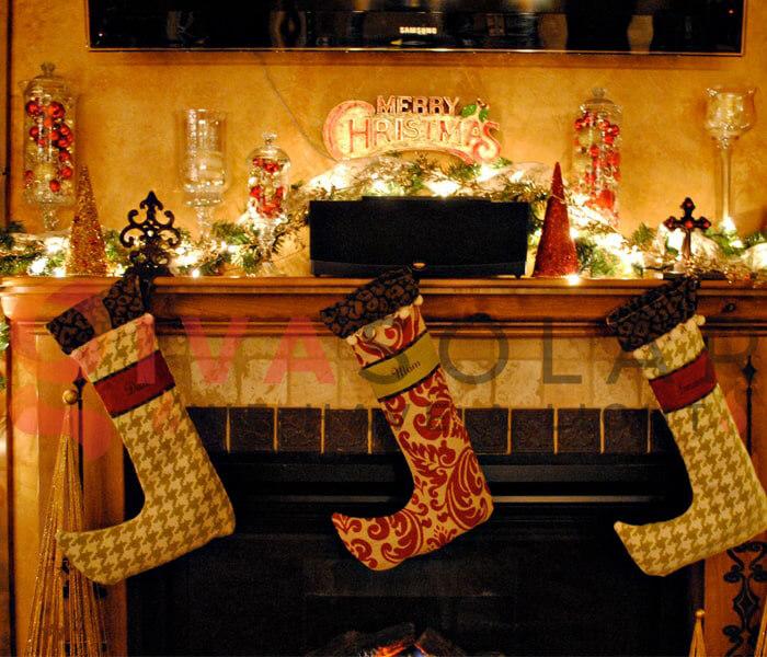 Ý tưởng sử dụng đèn trang trí cho mùa Giáng Sinh