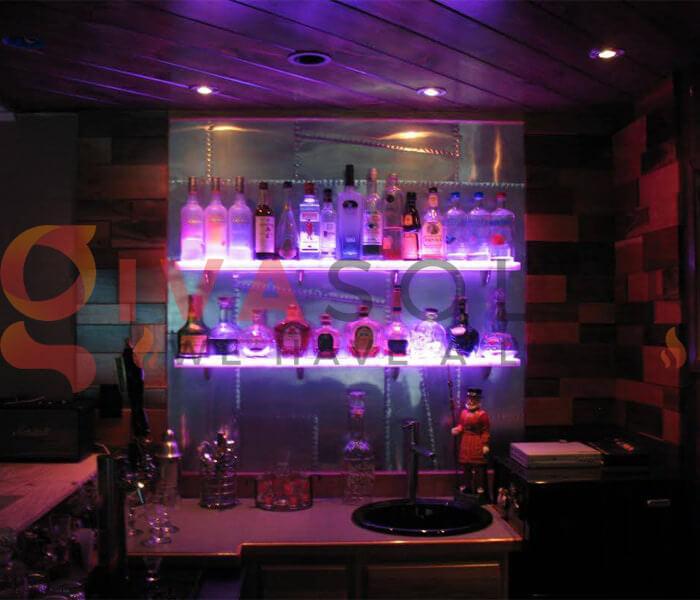 Ý tưởng sử dụng đèn trang trí quán bar 12