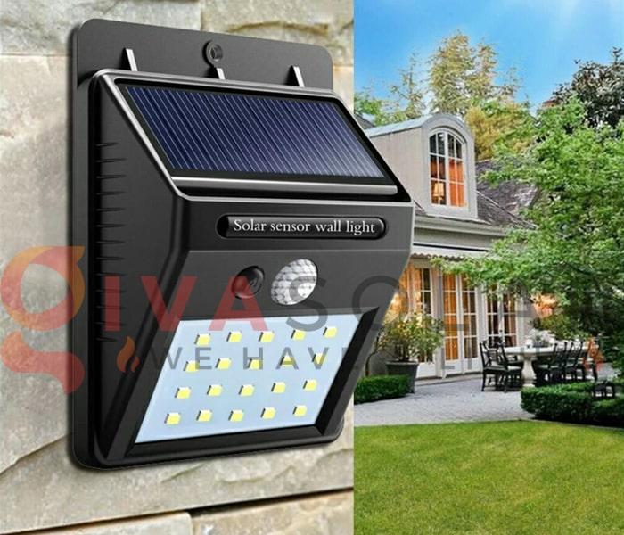 Các loại đèn treo tường năng lượng mặt trời 2