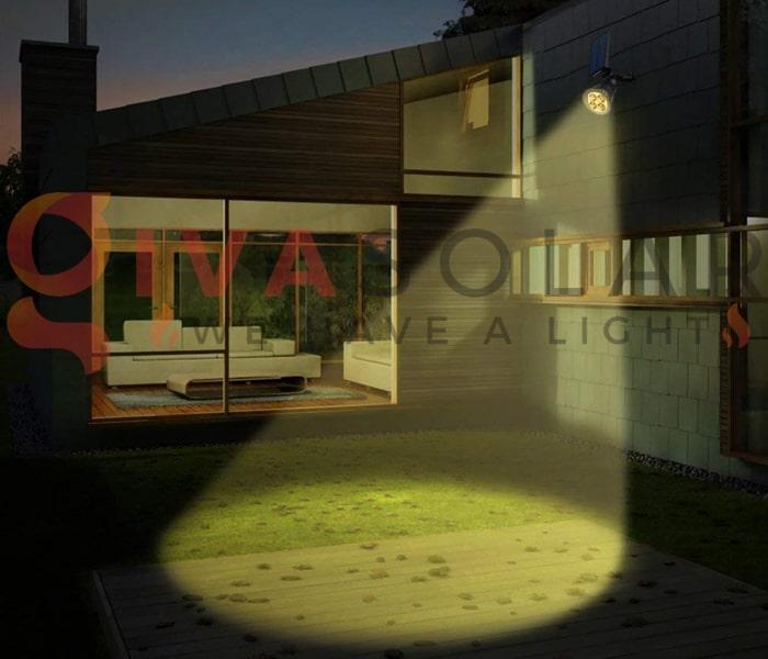 Các loại đèn treo tường năng lượng mặt trời 5