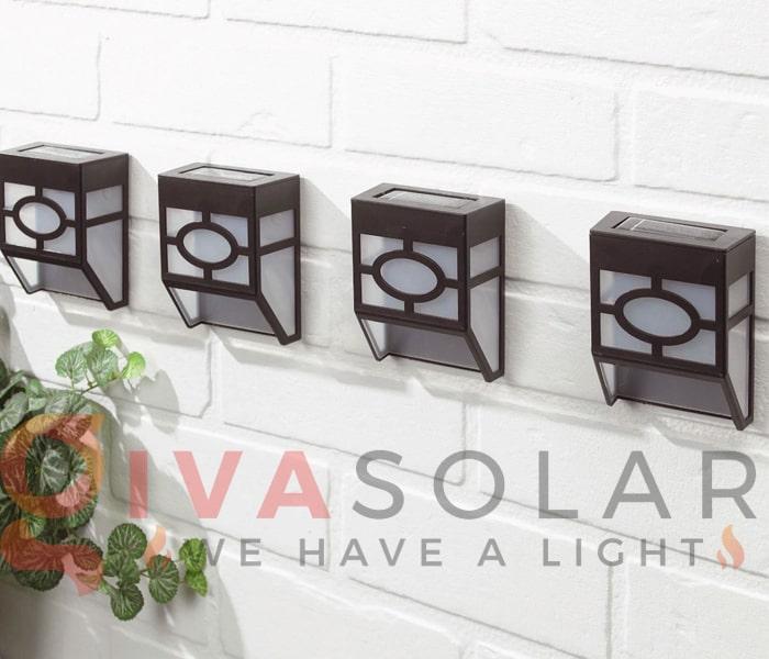 Các loại đèn treo tường năng lượng mặt trời 7