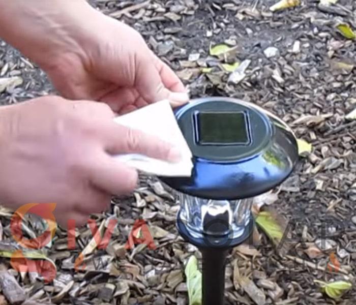 Cách bảo trì đèn cắm đất năng lượng mặt trời 1