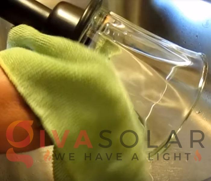 Cách bảo trì đèn cắm đất năng lượng mặt trời 2