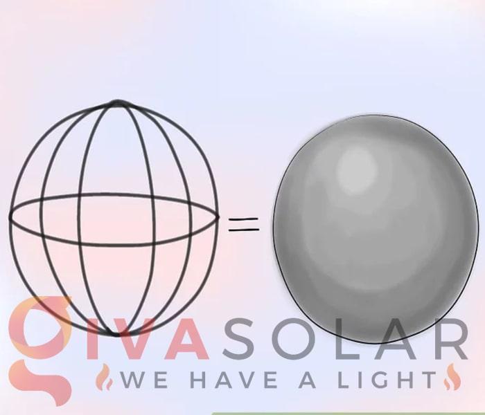 Cách làm quả cầu đèn trang trí 3