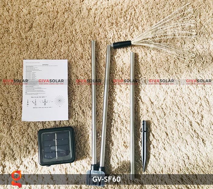 Đèn trang trí cắm đất hiệu ứng pháo hoa NLMT GV-SF60 1