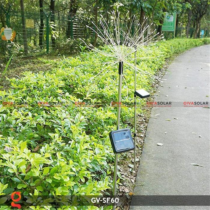 Đèn trang trí cắm đất hiệu ứng pháo hoa NLMT GV-SF60 6