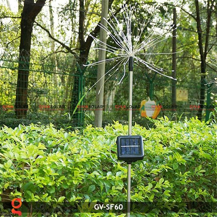 Đèn trang trí cắm đất hiệu ứng pháo hoa NLMT GV-SF60 7