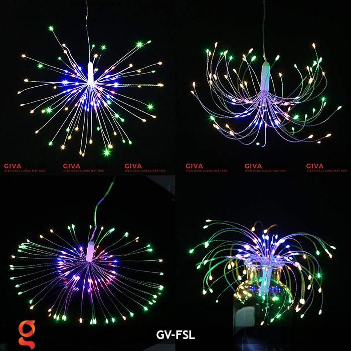 Dây đèn led trang trí hiệu ứng pháo hoa GV-FSL 10