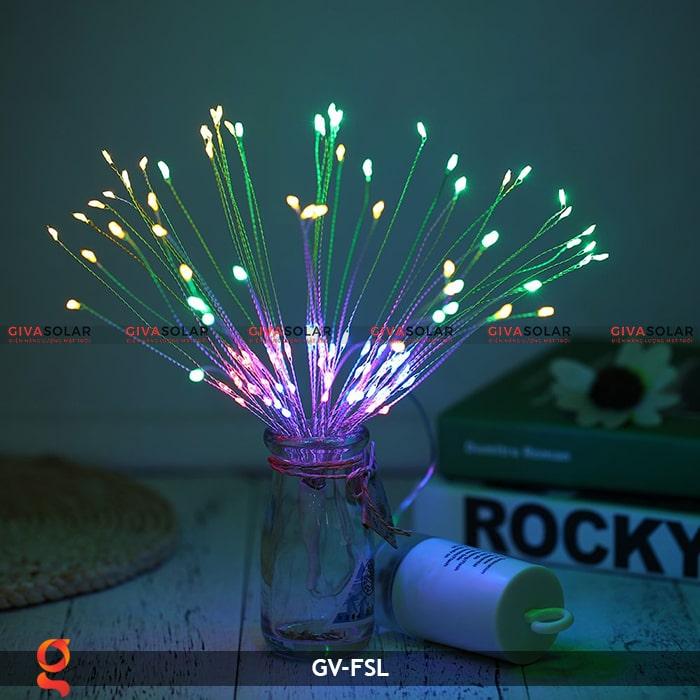 Dây đèn led trang trí hiệu ứng pháo hoa GV-FSL 13