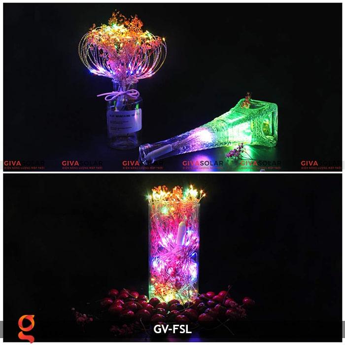 Dây đèn led trang trí hiệu ứng pháo hoa GV-FSL 16