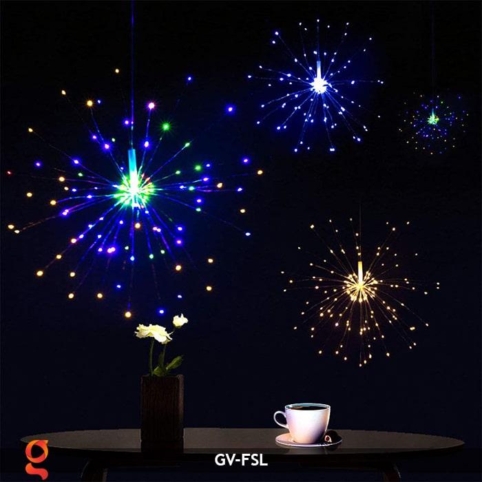 Dây đèn led trang trí hiệu ứng pháo hoa GV-FSL 17