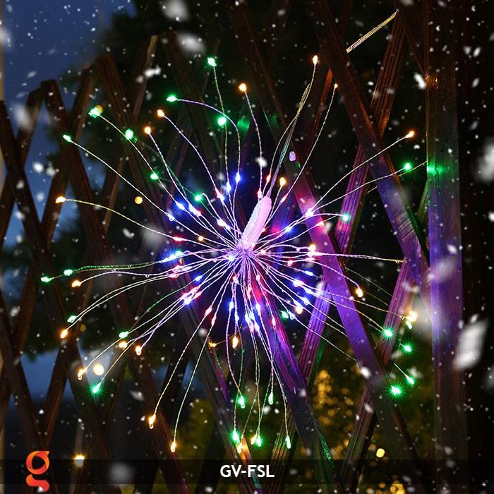 Dây đèn led trang trí hiệu ứng pháo hoa GV-FSL 19