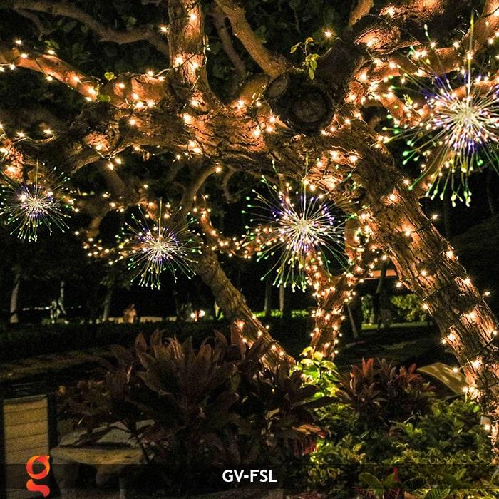 Dây đèn led trang trí hiệu ứng pháo hoa GV-FSL 22