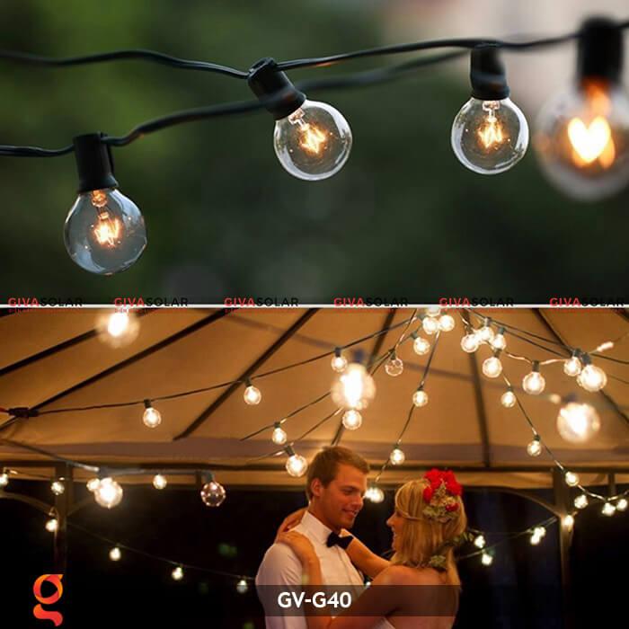 Bộ dây đèn led trang trí GV-G40 11