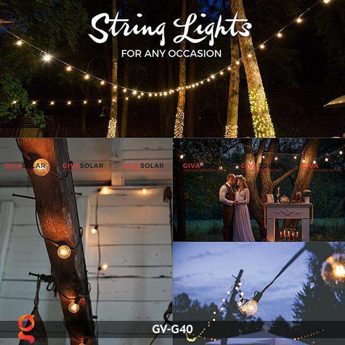 Bộ dây đèn led trang trí GV-G40 14