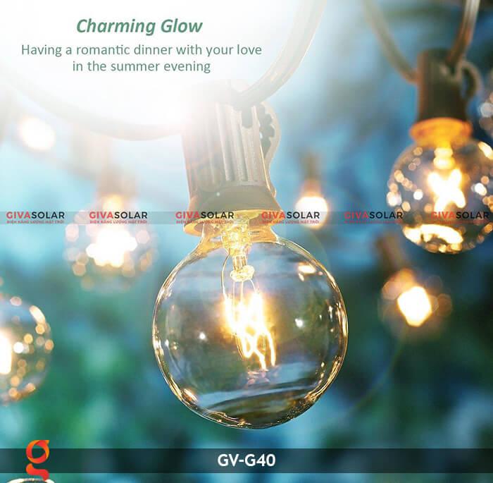 Bộ dây đèn led trang trí GV-G40 5