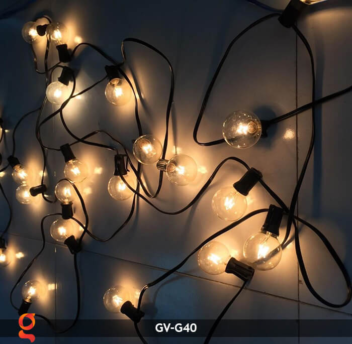 Bộ dây đèn led trang trí GV-G40 9
