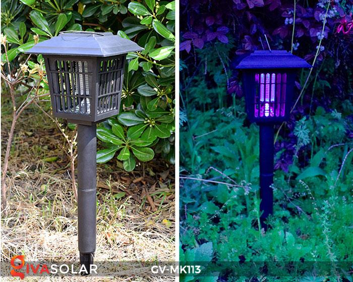 Đèn bắt muỗi năng lượng mặt trời GV-MK113 12