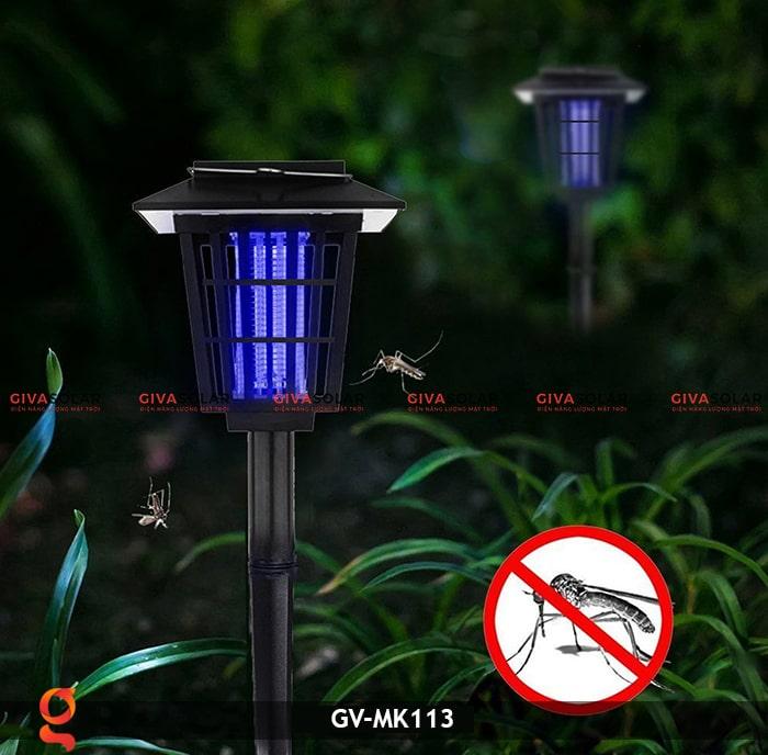 Đèn bắt muỗi năng lượng mặt trời GV-MK113