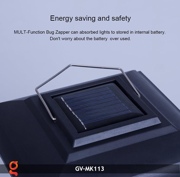 Đèn bắt muỗi năng lượng mặt trời GV-MK113 5