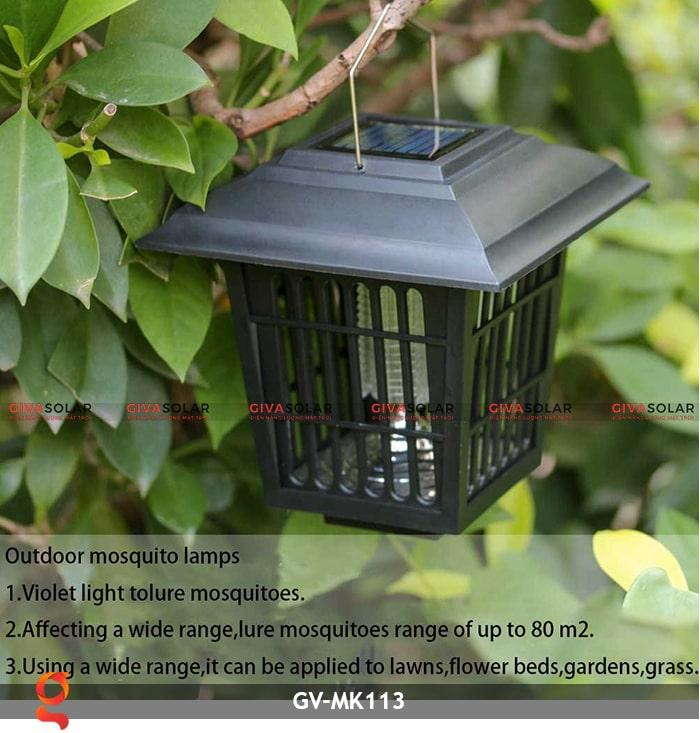 Đèn bắt muỗi năng lượng mặt trời GV-MK113 8