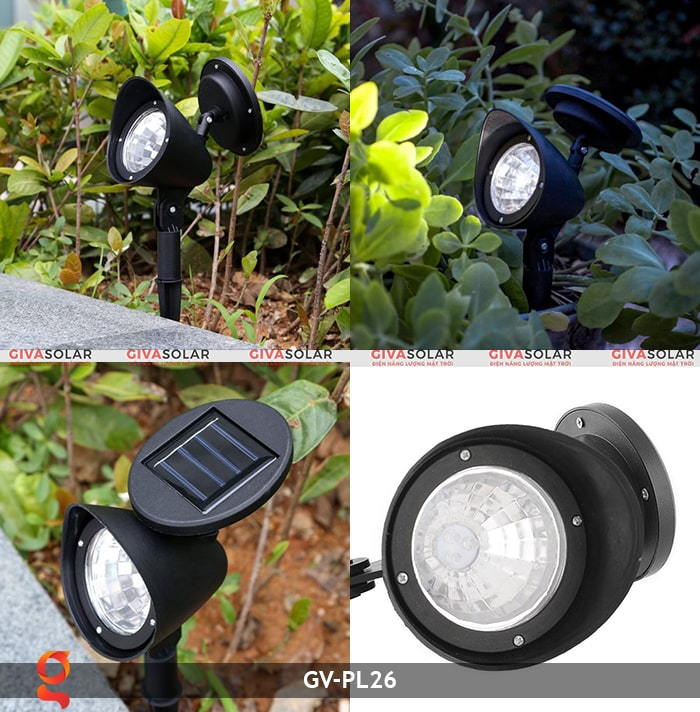 Đèn cắm cỏ năng lượng mặt trời Gv-PL26 15