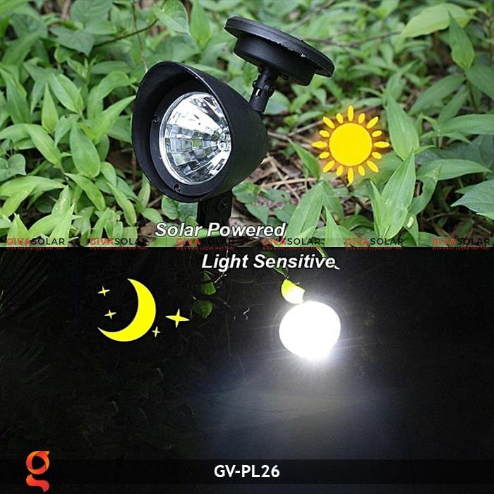 Đèn cắm cỏ năng lượng mặt trời Gv-PL26 4