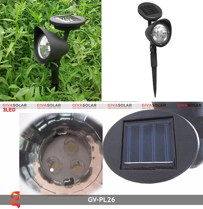 Đèn cắm cỏ năng lượng mặt trời Gv-PL26 8