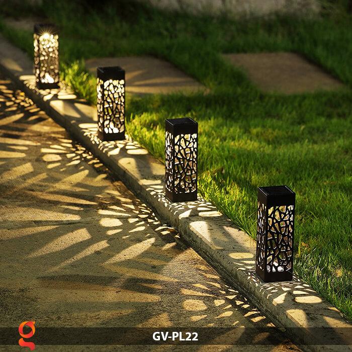 Đèn cắm đất năng lượng mặt trời mini GV-PL22 12