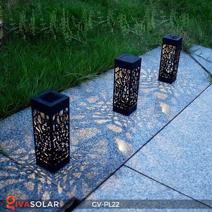 Đèn cắm đất năng lượng mặt trời mini GV-PL22 16