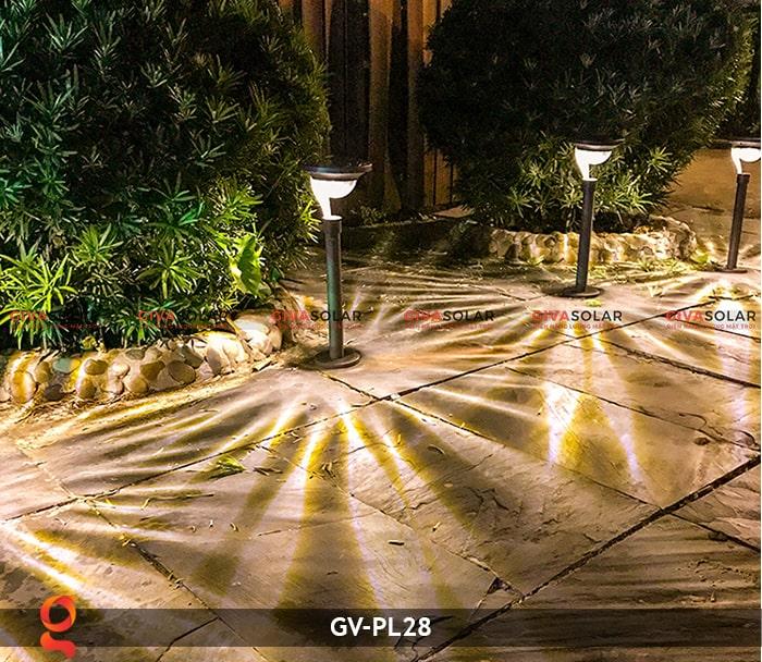 Đèn sân vườn năng lượng mặt trời GV-PL28 10