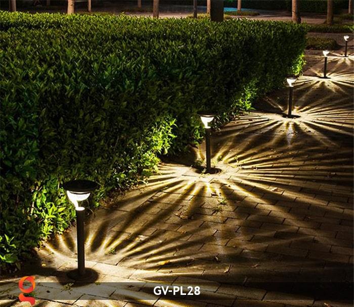Đèn sân vườn năng lượng mặt trời GV-PL28 12