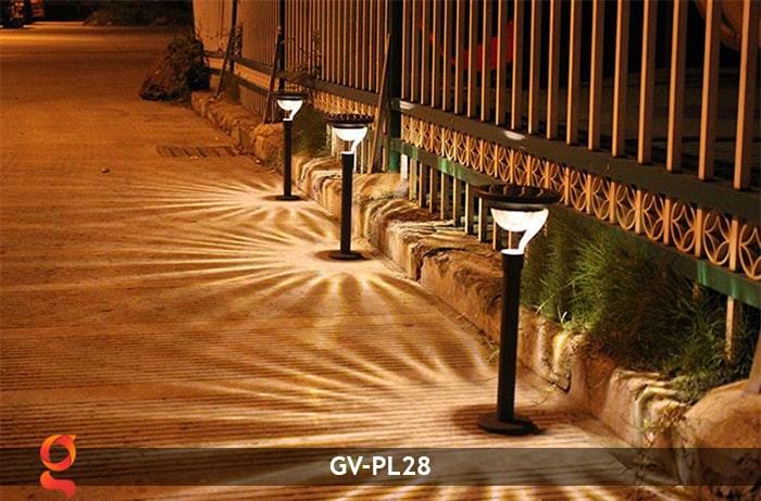 Đèn sân vườn năng lượng mặt trời GV-PL28 14