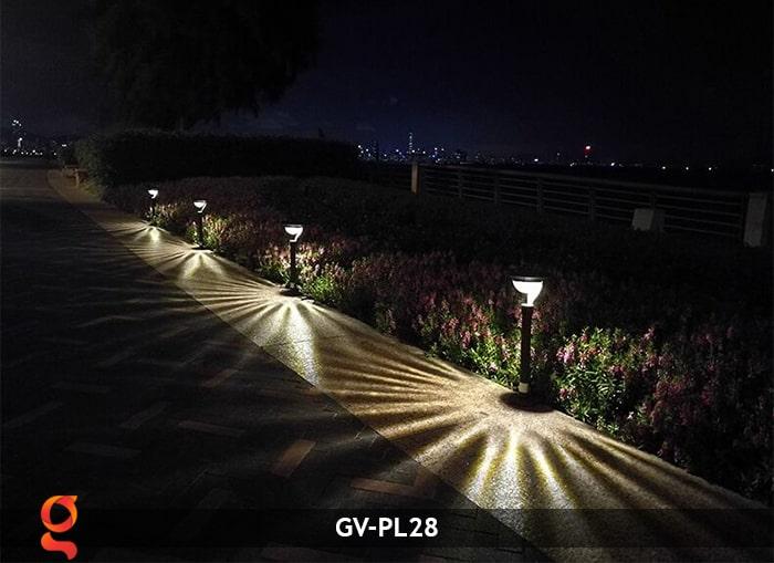 Đèn sân vườn năng lượng mặt trời GV-PL28 15
