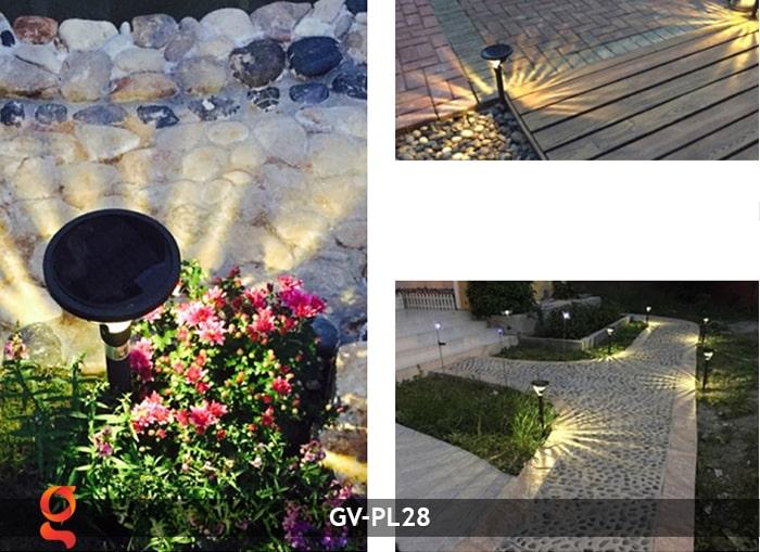 Đèn sân vườn năng lượng mặt trời GV-PL28 16