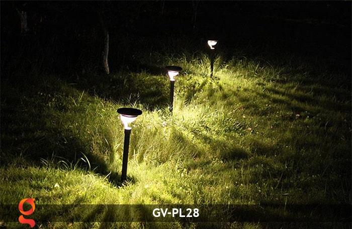 Đèn sân vườn năng lượng mặt trời GV-PL28 18