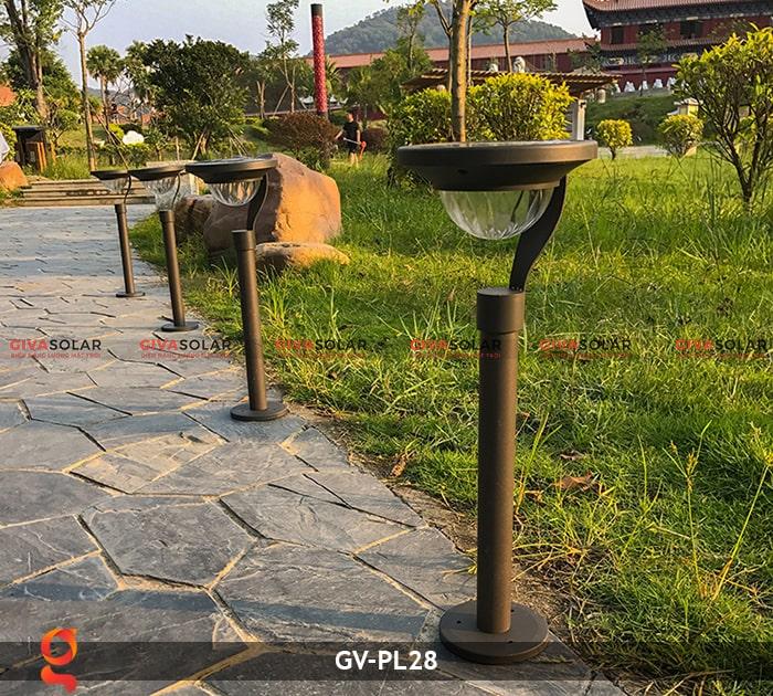 Đèn sân vườn năng lượng mặt trời GV-PL28 2