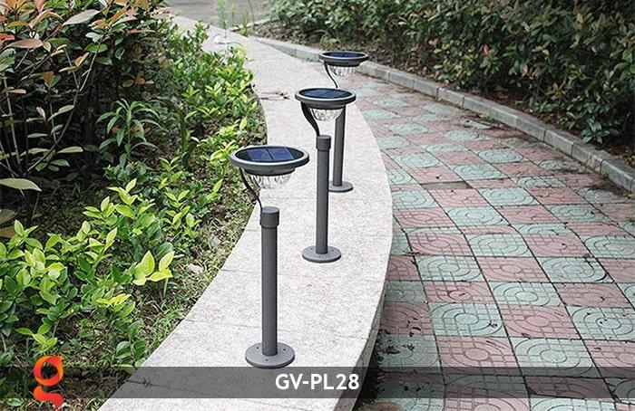 Đèn sân vườn năng lượng mặt trời GV-PL28 5